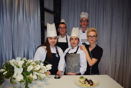Zwycięzcy konkursu - uczniowie Zespołu Szkół Gastronomiczno-Hotelarskich w Toruniu. Foto: materiały prasowe.
