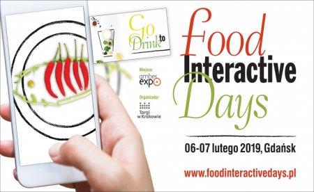 Food Interactive Days - banner. Foto: materiały prasowe.