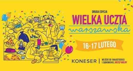 Wielka Uczta Warszawska - banner. Foto: materiały prasowe.