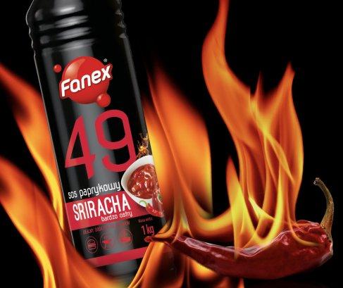 Fanex Sriracha. Foto: materiały prasowe.