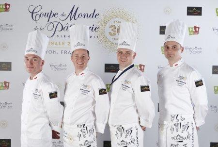 Polska drużyna na Coupe du Monde de la Patisserie. Foto: materiały prasowe.