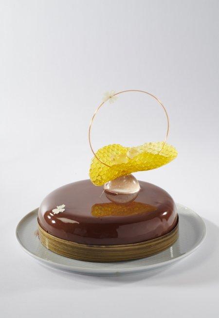 Jeden z zaprezentowanych na konkursie tortów. Foto: materiały prasowe.