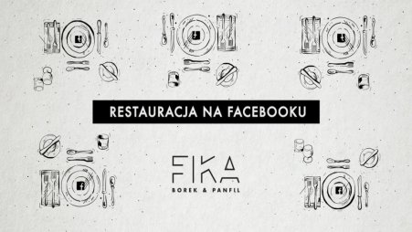 Restauracja na Facebooku. Foto: materiały prasowe.