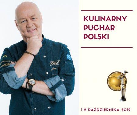 Jarosław Walczyk, przewodniczący jury Kulinarnego Pucharu Polski 2019. Foto: materiały prasowe.