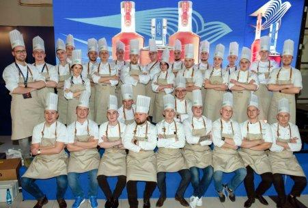 Uczestnicy L'art de la cuisine Martell 2019. Foto: materiały prasowe.