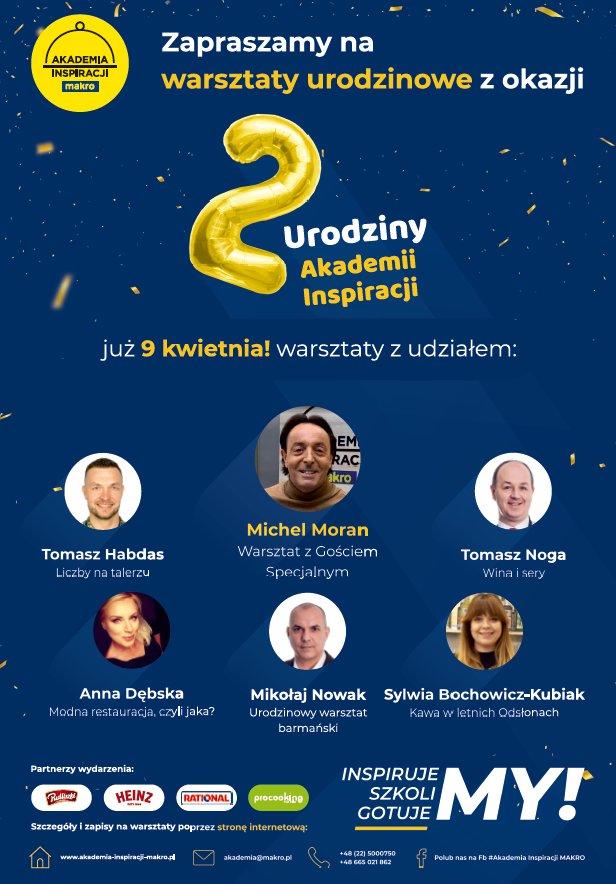 2 Urodziny Akademii Inspiracji Makro Wydarzenia Branżowe Ouichef Pl