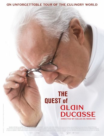 """""""Alain Ducasse: kuchenne wyzwania\"""" - plakat filmu. Foto: materiały prasowe."""
