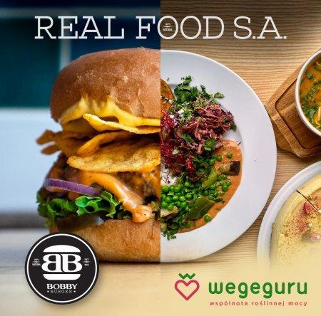 Bobby Burger i Wegeguru utworzyły Real Food SA. Foto: materiały prasowe.