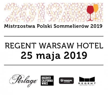Mistrzostwa Polski Sommelierów 2019 - banner. Foto: materiały prasowe.