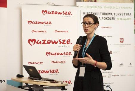 Wystąpienie dr Magdaleny Tomaszewskiej-Bolałek