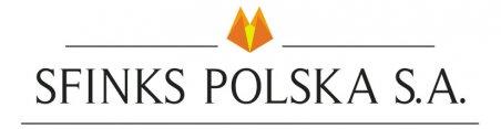 Logo Sfinks Polska S.A. Foto: materiały prasowe.