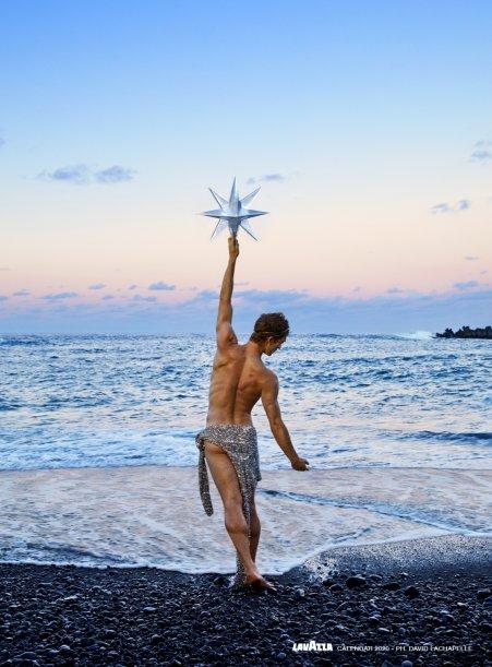 Zdjęcie autorstwa Davida LaChapelle znajdzie się w Kalendarzu Lavazza na 2020 rok. Foto: David LaChapelle