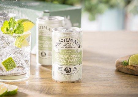 Fentimans Elderflower Tonic Water, puszka 150 ml. Foto: materiały prasowe.