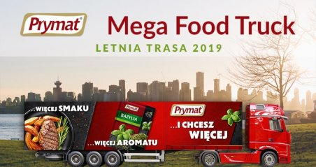 Prymat Mega Food Truck. Foto: materiały prasowe.