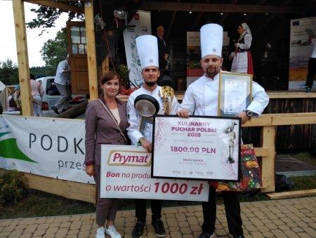 Zwycięzcy konkursu Smaki Galicji, Kamil Tłuczek i Piotr Kuzdro z restauracji Patio w Grand Hotel Boutique w Rzeszowie. Foto: materiały prasowe.