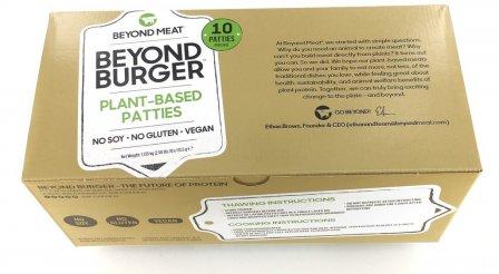 Roślinny burger od Beyond Meat. Zdęcie: materiały prasowe.