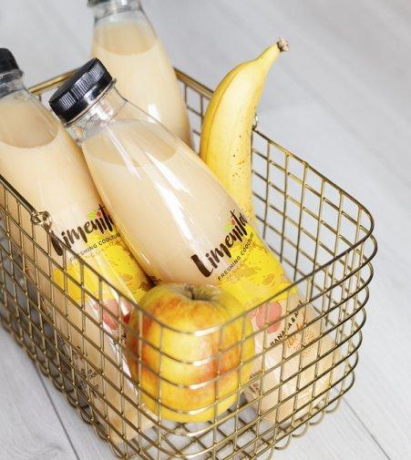 Sok bananowo-jabłkowy Limenita. Foto: materiały prasowe.