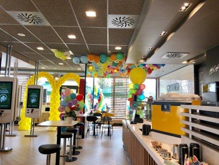 Wnętrze nowej restauracji McDonald's. Foto: materiały prasowe.