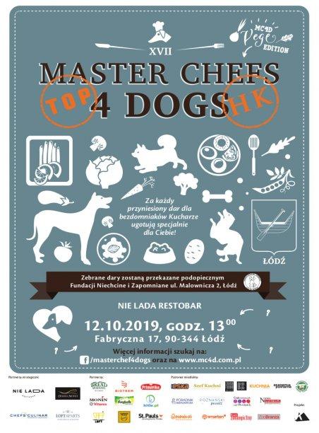 Master Chefs 4 Dog - banner. Foto: materiały prasowe.
