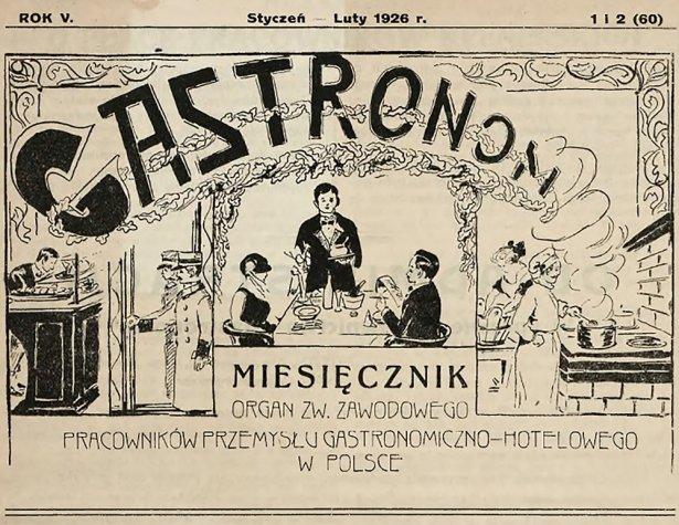 """Gastronom. Foto: Przedsiębiorstwo Widowiskowe """"Oaza\"""" (War, zbiory Biblioteki Jagiellońskiej, Polona. szawa)"""