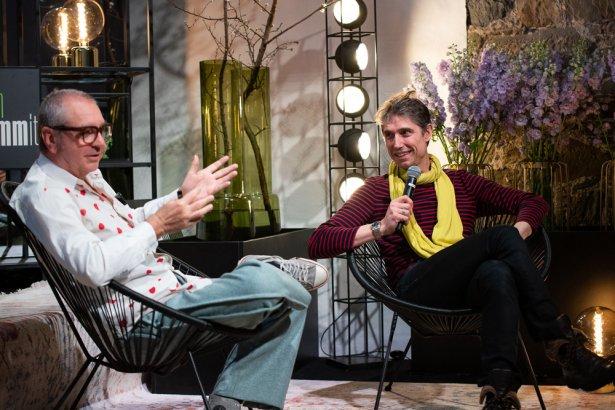 Andrea Petrini i Christophe Pele. Foto: Michał Kremžar.