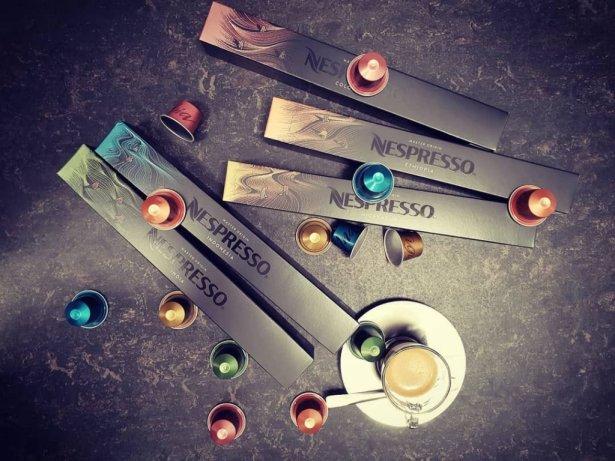 Wybór kaw Nespresso. Foto: materiały prasowe.