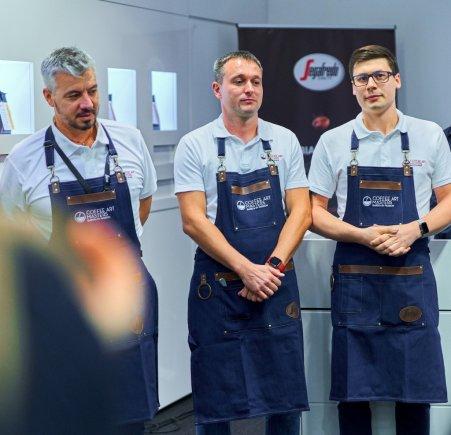 Od lewej: Christian Tirro, Grzegorz Staszowski, Maciej Zabochnicki. Foto: materiały prasowe.