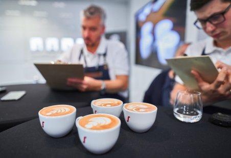 Konkurs Latte Art na Dniu Kawy z Segafredo. Foto: materiały prasowe.