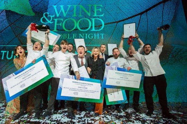Zespół restauracji Umami z nagrodą jury profesjonalnego. Zdjęcie: materiały prasowe.