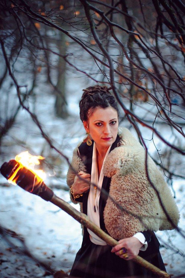 """Ewa """"Malika\"""" Szyc-Juchnowicz. Foto: Renata Dąbrowska."""