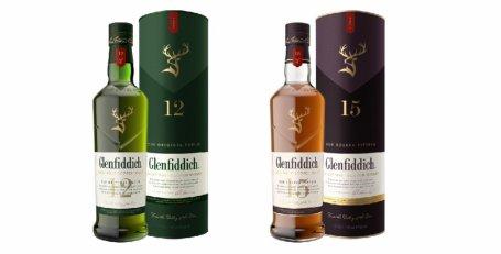 Nowe butelki i opakowania Glenfiddich. Foto: materiały prasowe.