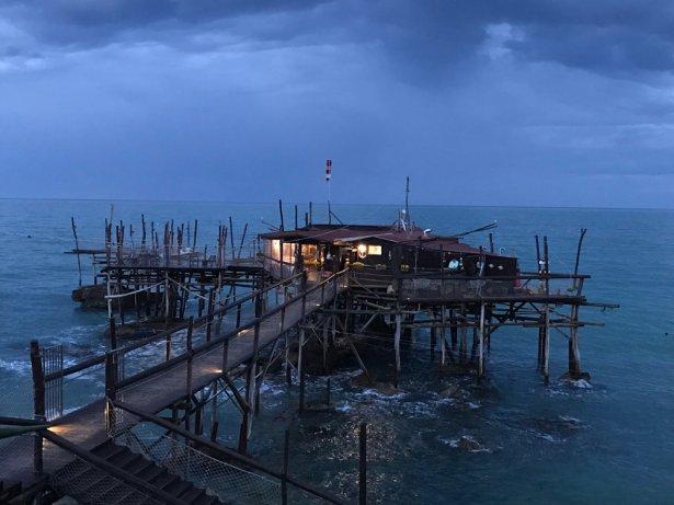 Restauracja Trabocco Punta Cavalluccio. Foto: Patrycja Siwiec.