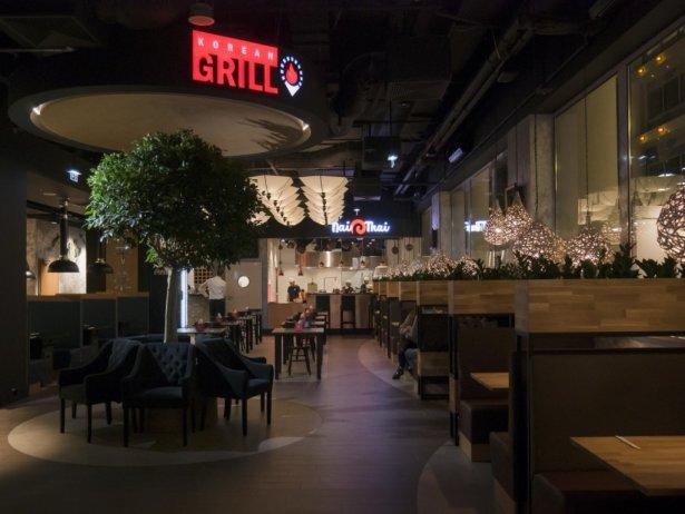 Restauracja Azia w stołecznym Blue City. Zdjęcie: materiały prasowe.