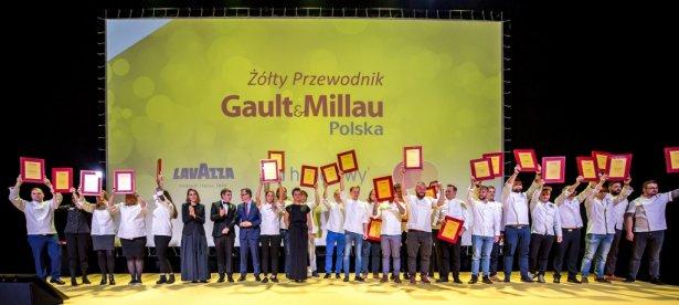 Laureaci nagród dla najlepszych szefów kuchni Żółtego Przewodnika Gault&Millau 2020. Zdjęcie:materiały prasowe.