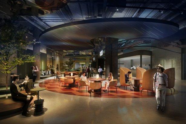 Wizualizacja konceptu Sky Kitchen we Wrocławiu. Zdjęcie: materiały prasowe.