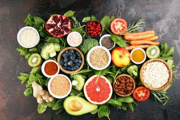 Składniki zdrowej diety. Zdjęcie: Shutterstock.com