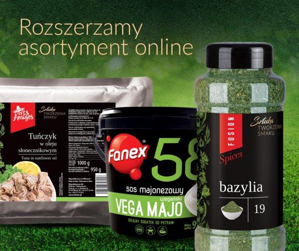 Oferta online marki Fanex. Zdjęcie: materiały prasowe.