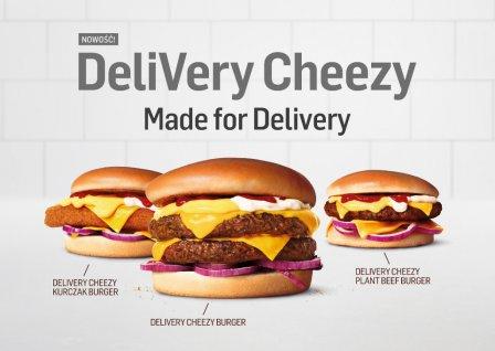 MAX Premium Burgers - oferta made for delivery. Foto: materiały prasowe.