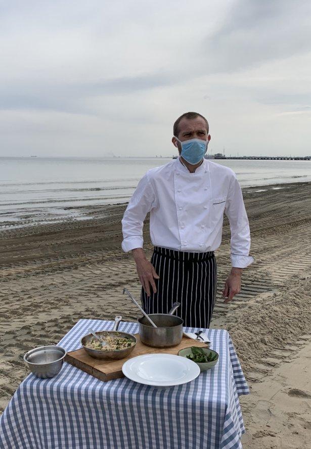 Artur Moroz, właściciel restauracji Bulaj w Sopocie. Foto: materiały prasowe.