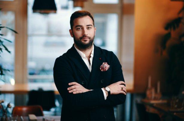 Antoine Azaïs, CEO Gastrojob, dyrektor restauracji Epoka. Zdjęcie: materiały prasowe.