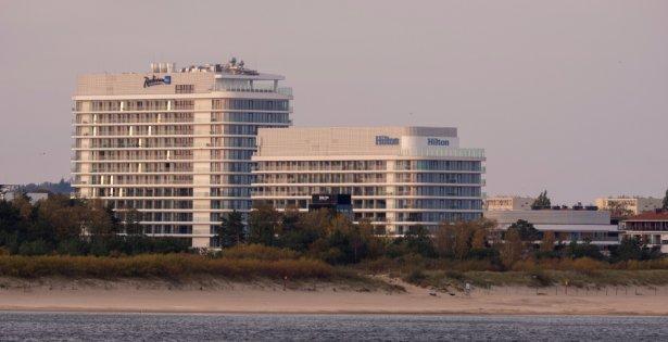 Hotel Hilton w Świnoujsciu. Zdjęcie: Shutterstock.com.