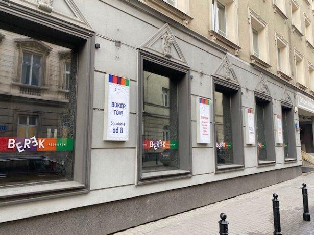 Zamknięcie restauracji Berek. Zdjęcie: materiały prasowe.