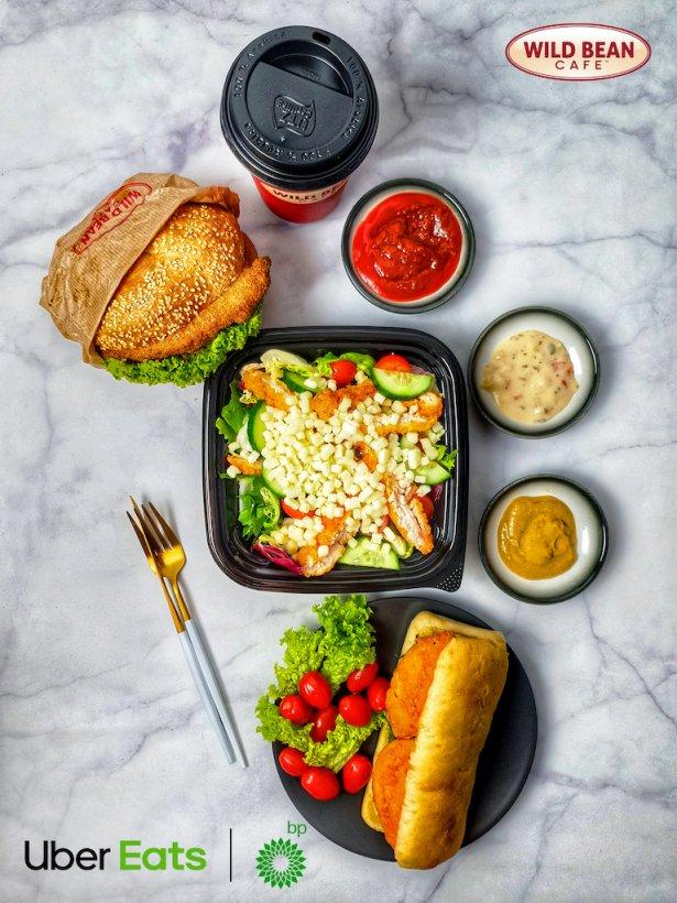 Posiłki z Wild Bean Cafe w ofercie Uber Eats. Zdjęcie: materiały prasowe.