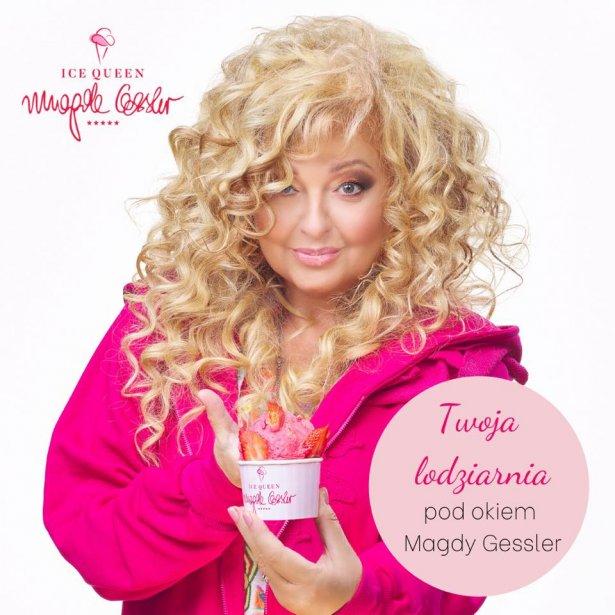 Magda Gessler i jej koncept Ice Queen Cafe Magda Gessler. Zdjęcie: Facebook.com.