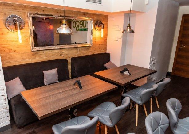 Wnętrze Fuego Bar & Grill by Bracia Collins. Zdjęcie: materiały prasowe.