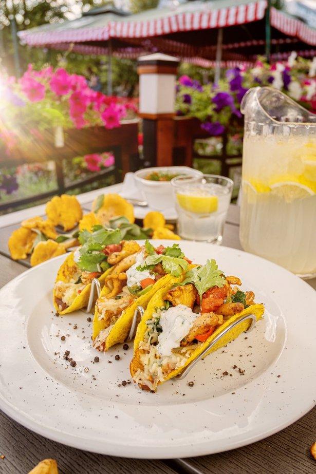 Jeff's w sezonie serwuje tacosy z kurkami. Zdjęcie: materiały prasowe.