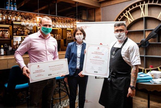 Przedstawiciele restauracji Kiyrnicka by Saguła z Kościeliska. Foto: materiały prasowe Makro.
