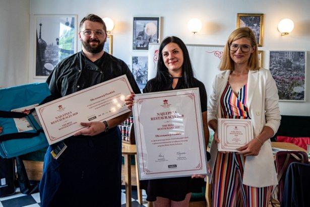 Przedstawiciele krakowskiej restauracji Handelek. Foto: materiały prasowe Makro.