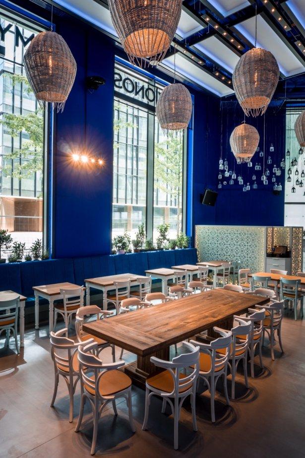 Restauracja Mykonos. Zdjęcie: materiały prasowe.