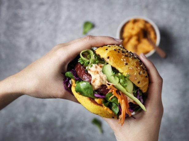 Sensational Burger marki Garden Gourmet. Zdjęcie: materiały prasowe.